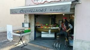 La boutique - Le Quai des Pirates - Coquillages Martigues